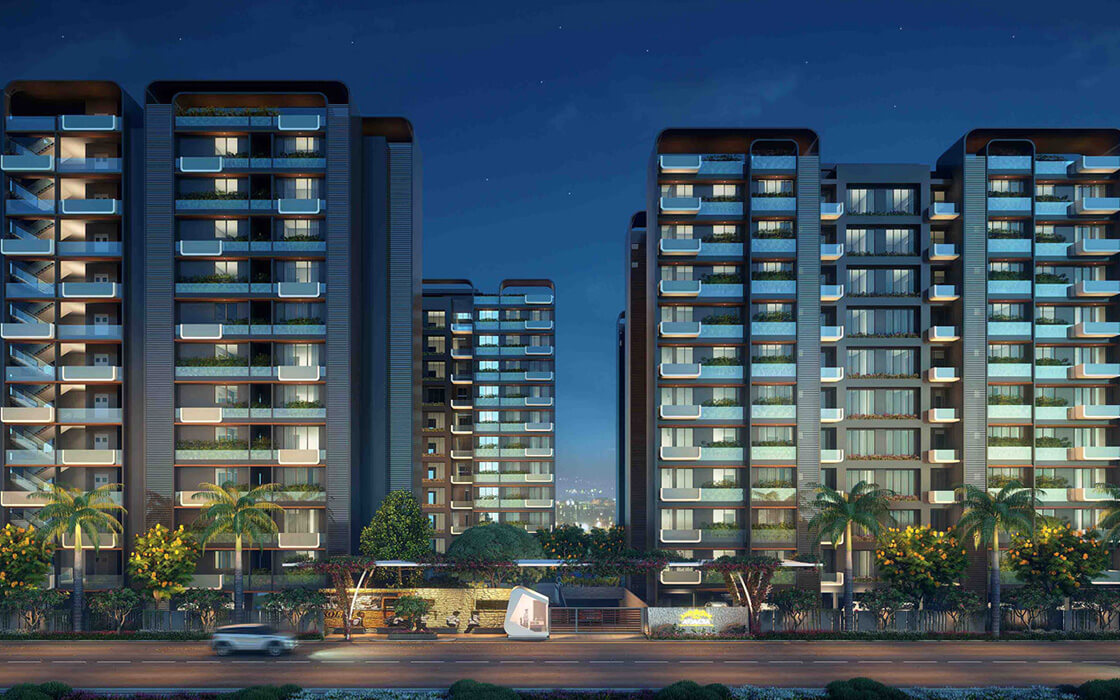 Best 3BHK and 4BHK Air Conditioned Homes in Sargasan